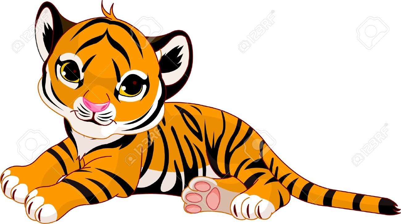 Tigres clipart #2, Download drawings