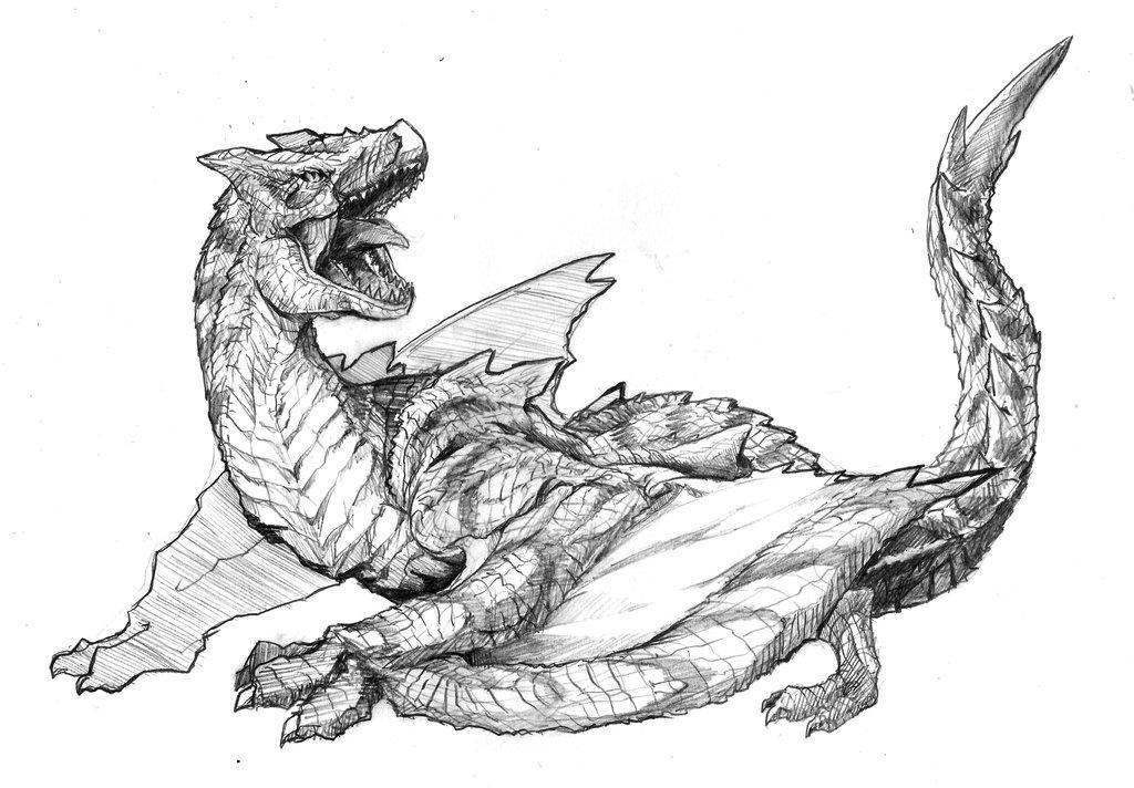 Tigrex coloring #14, Download drawings