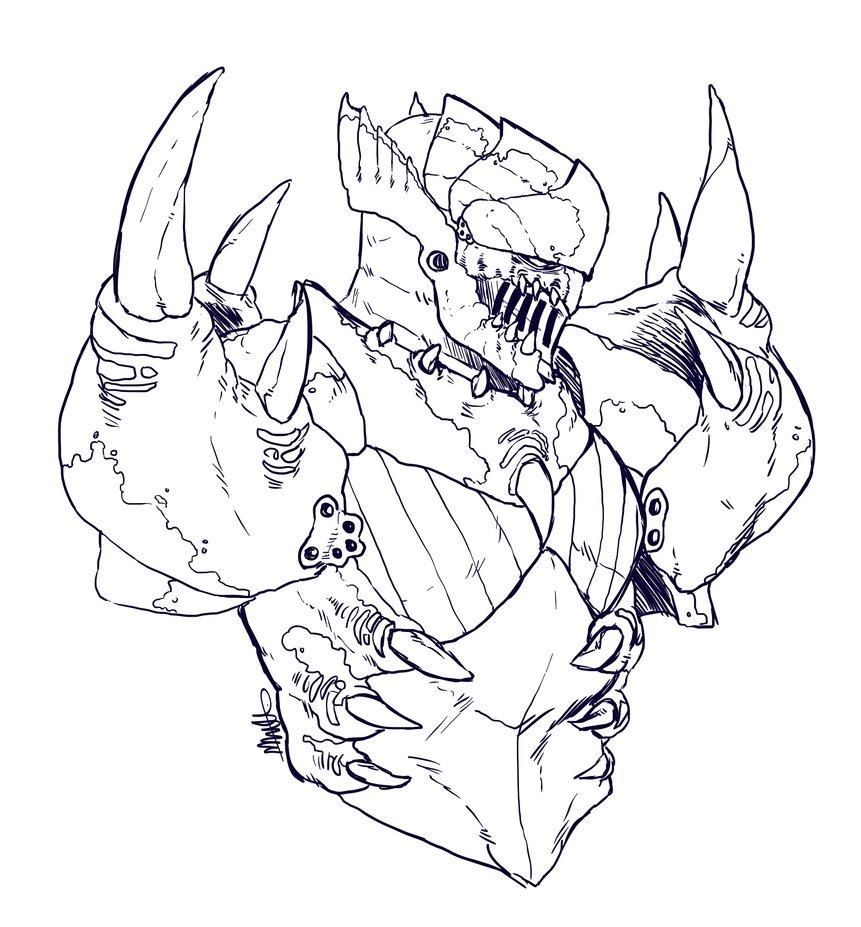 Tigrex coloring #11, Download drawings