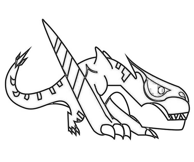 Tigrex coloring #12, Download drawings