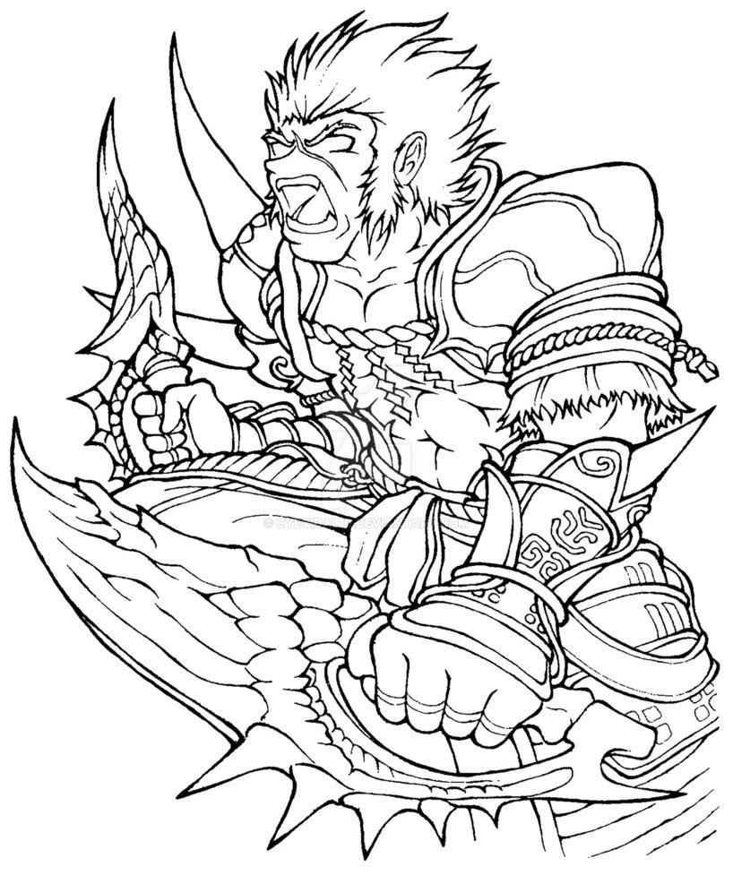 Tigrex coloring #1, Download drawings