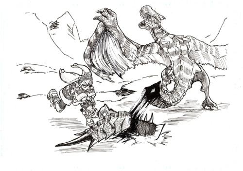 Tigrex coloring #9, Download drawings