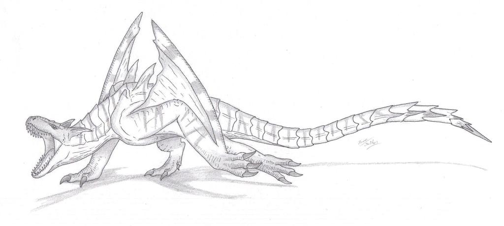 Tigrex coloring #2, Download drawings
