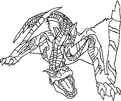 Tigrex coloring #17, Download drawings