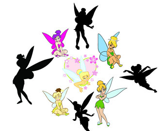 Tinker Bell svg #1, Download drawings