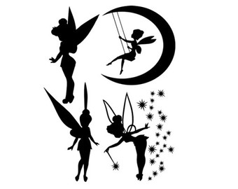 Tinker Bell svg #2, Download drawings