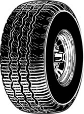 Tire clipart #7, Download drawings