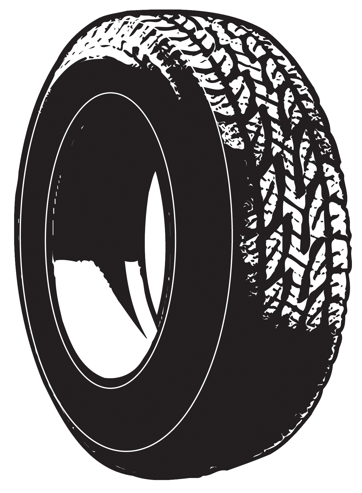 Tire clipart #17, Download drawings