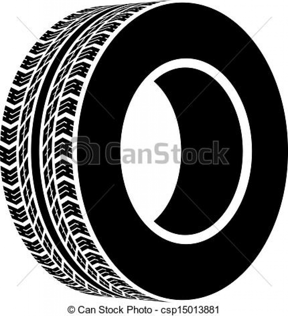 Tire clipart #1, Download drawings