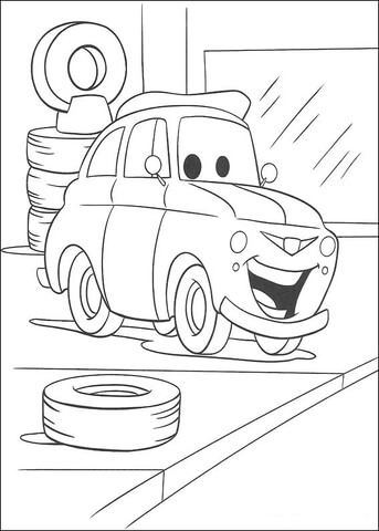 Tire coloring #5, Download drawings