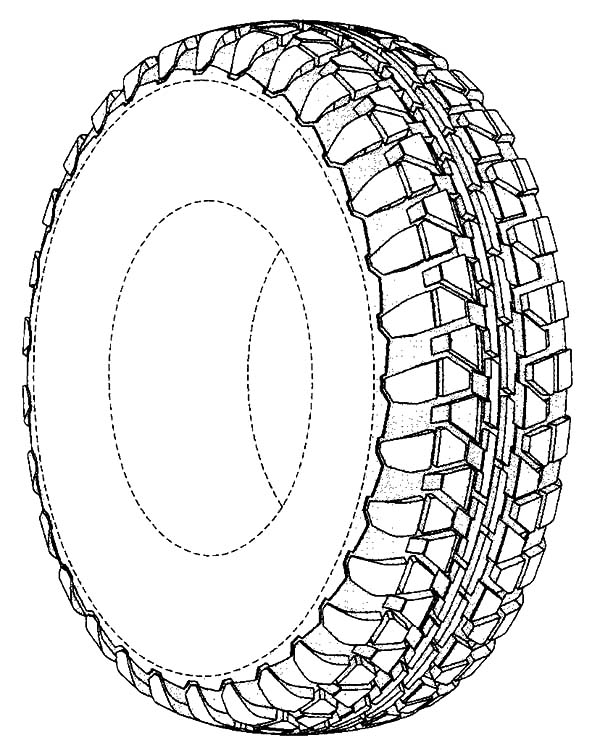 Tire coloring #17, Download drawings