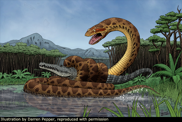 Titanoboa coloring #6, Download drawings