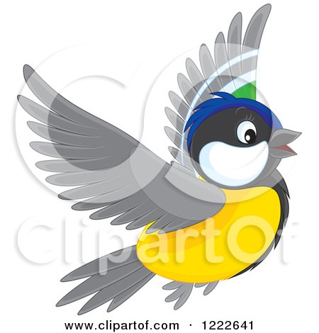 Titmouse clipart #10, Download drawings