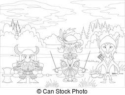 Tolkien clipart #1, Download drawings
