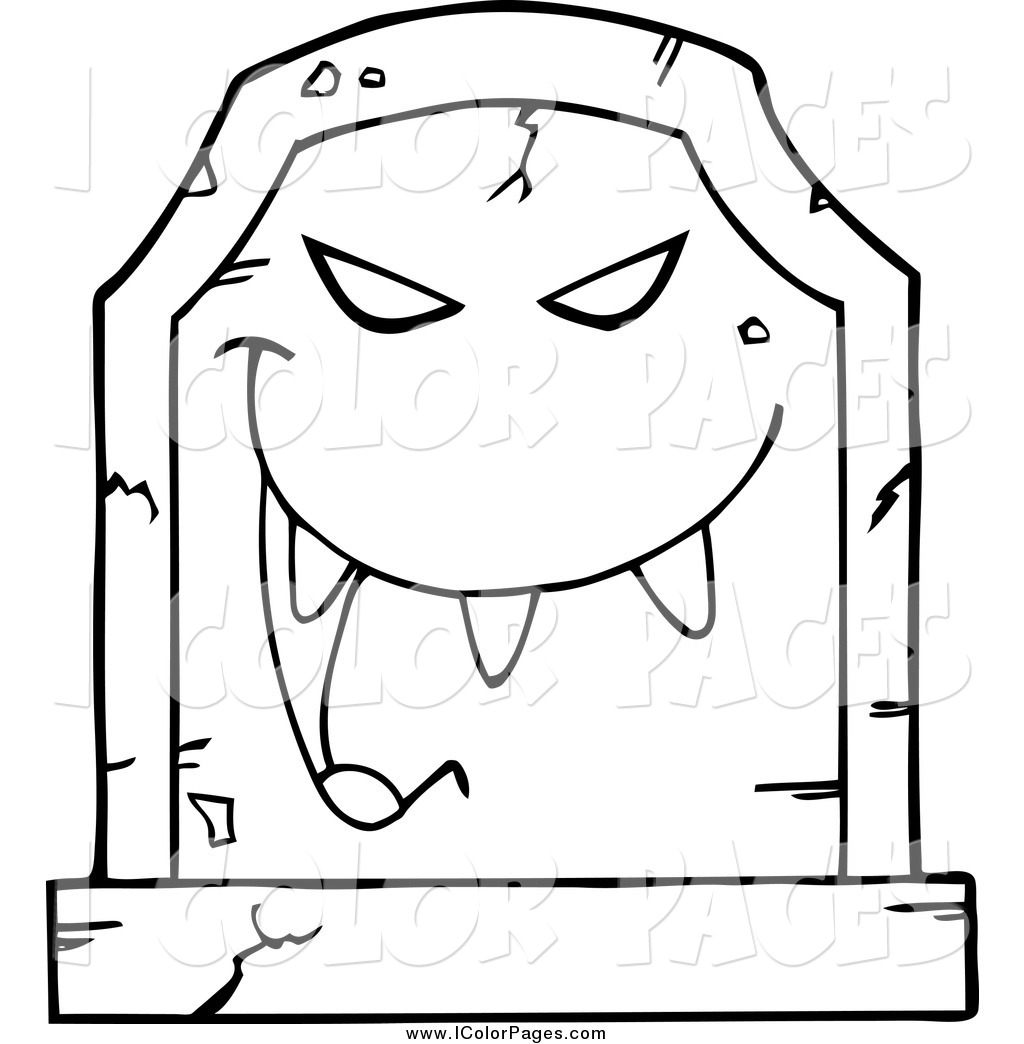 Tombstone coloring #2, Download drawings