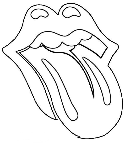tongue coloring download tongue coloring