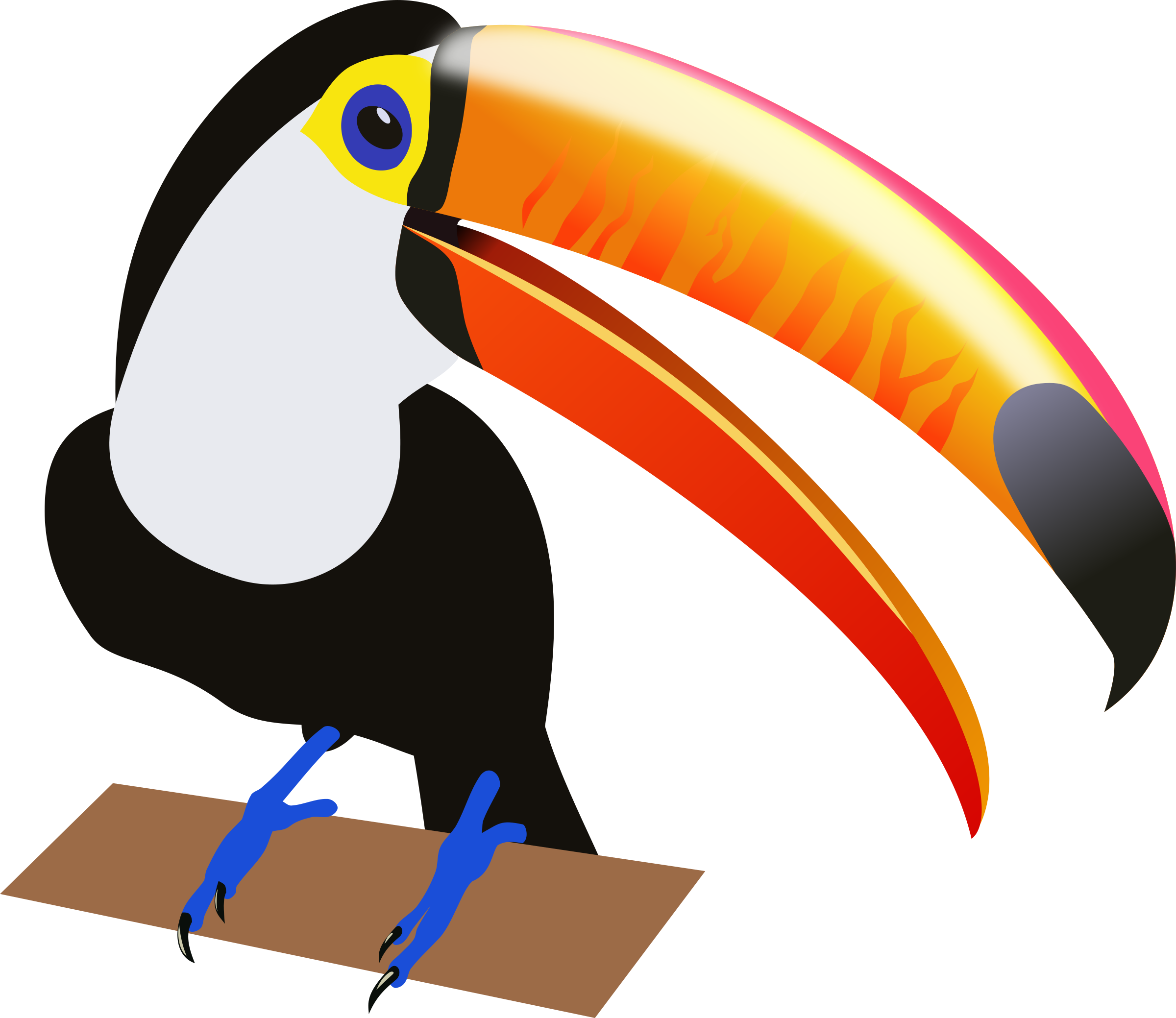 Toucan clipart #6, Download drawings