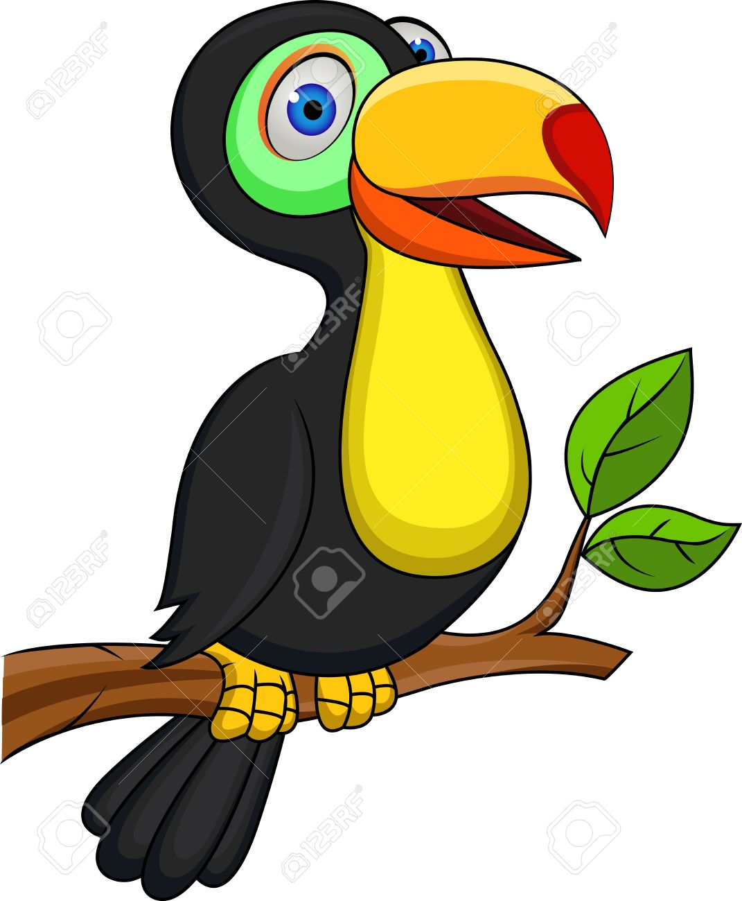 Toucan clipart #10, Download drawings