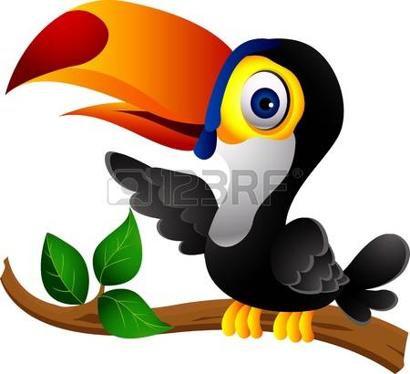 Toucan clipart #1, Download drawings