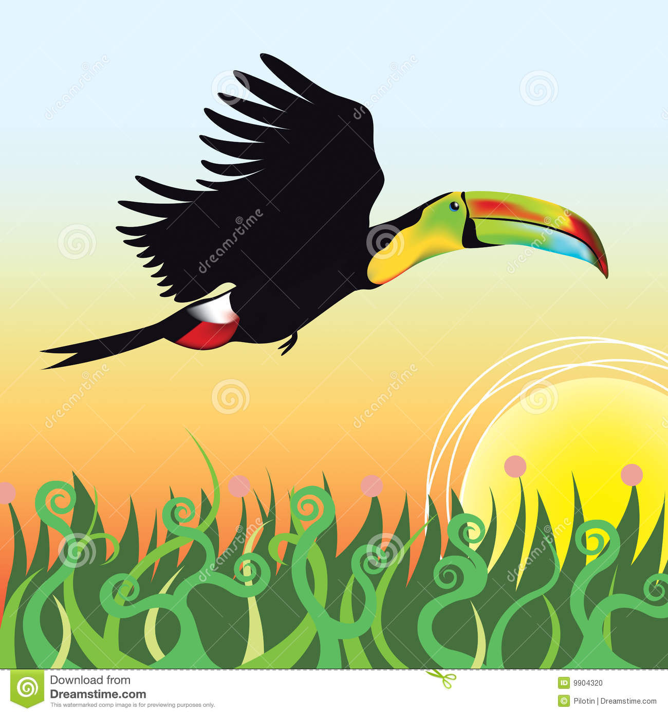 Toucanet clipart #5, Download drawings