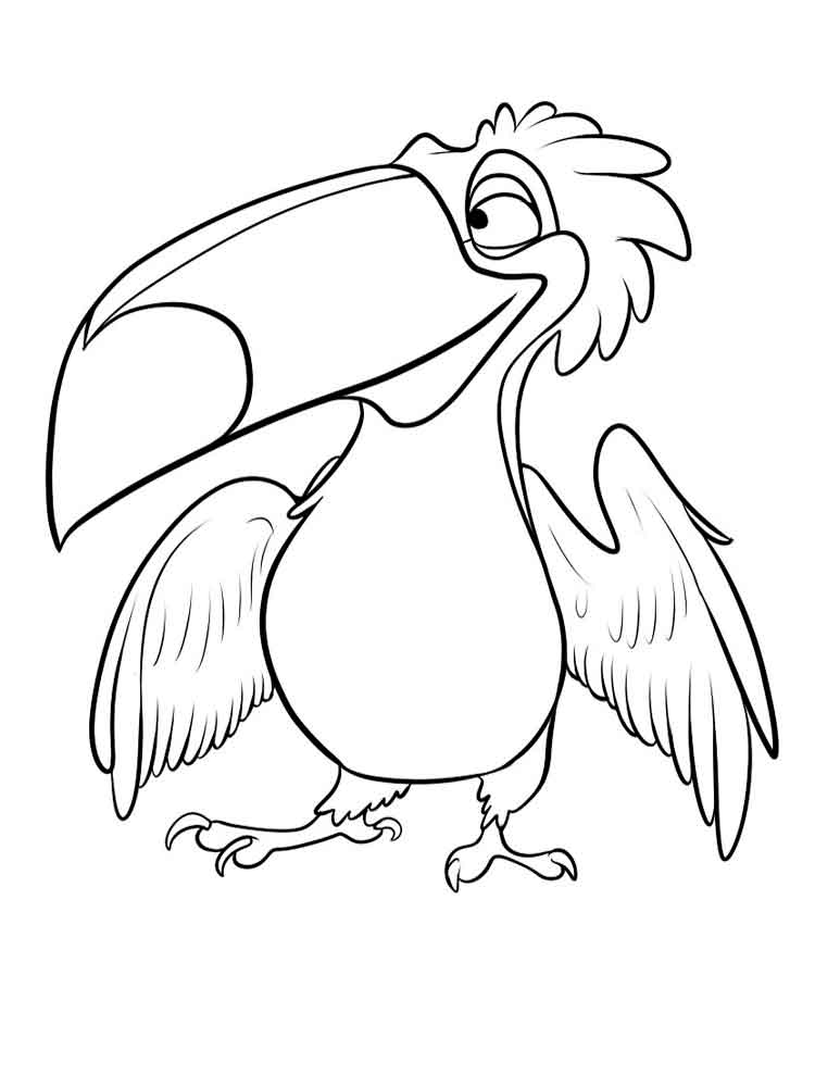 toucan coloring pages to print | Toucanet coloring, Download Toucanet coloring for free 2019