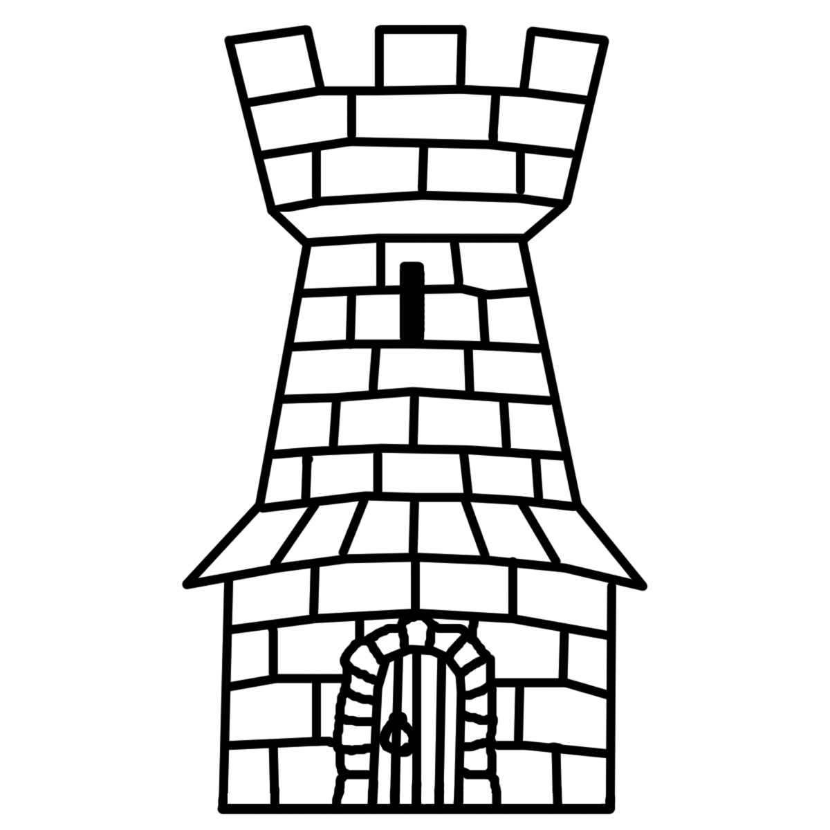 Tower clipart #18, Download drawings