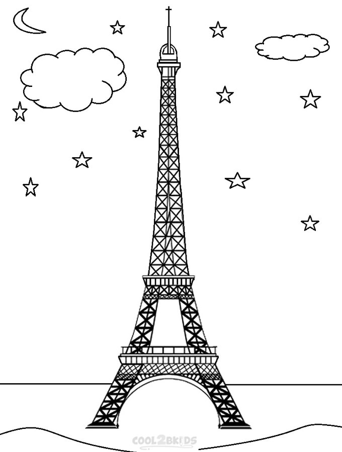 Tower coloring #12, Download drawings