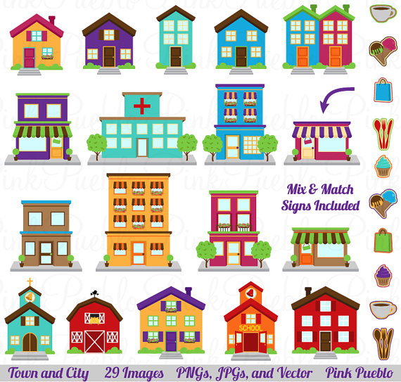 Town clipart #16, Download drawings