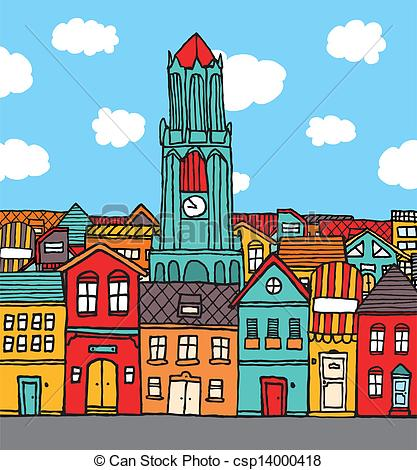 Town clipart #15, Download drawings