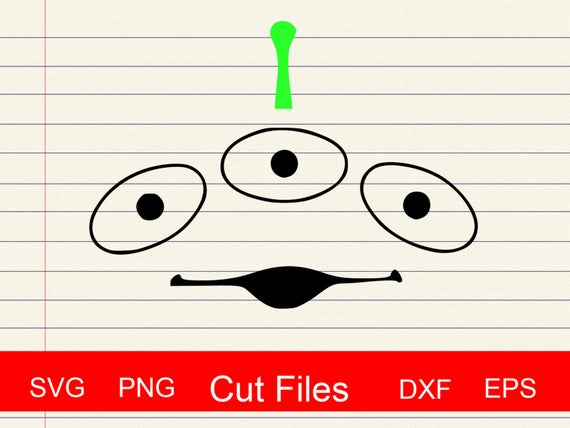 toy story alien svg #751, Download drawings