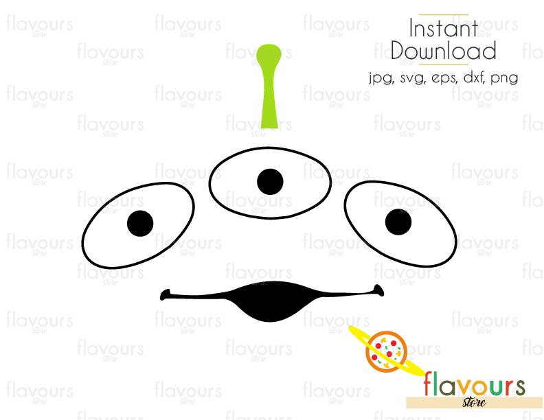 toy story alien svg #743, Download drawings