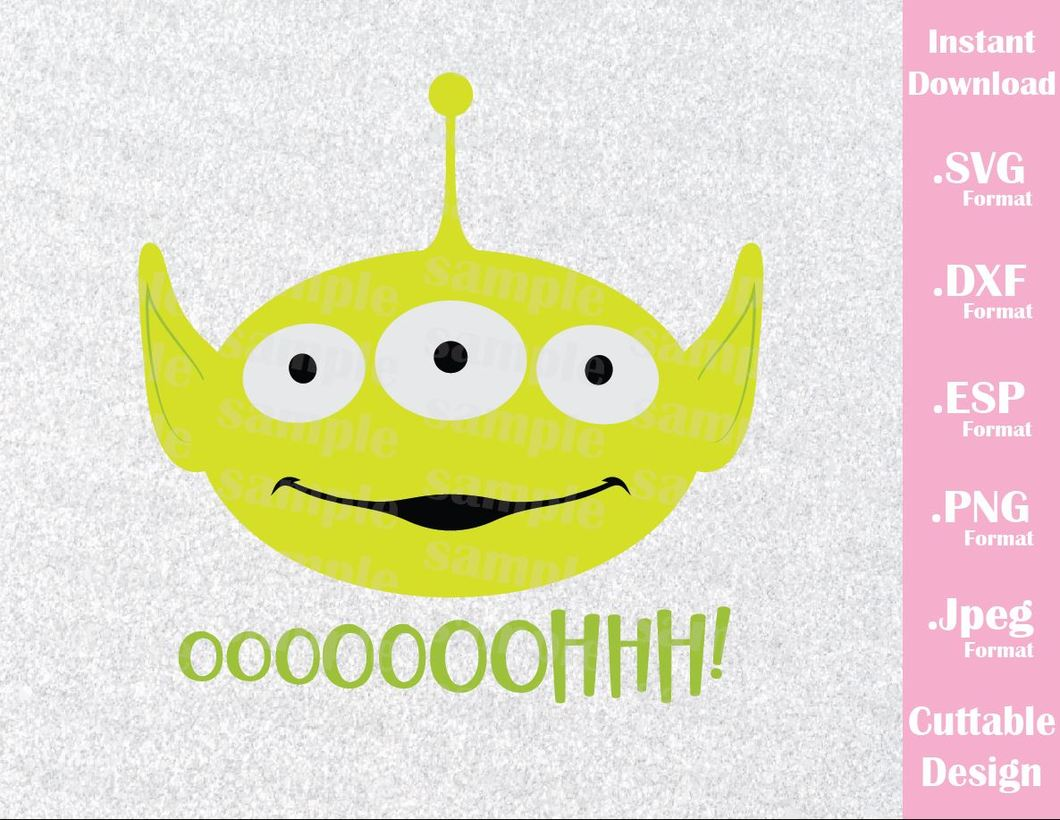 toy story alien svg #748, Download drawings