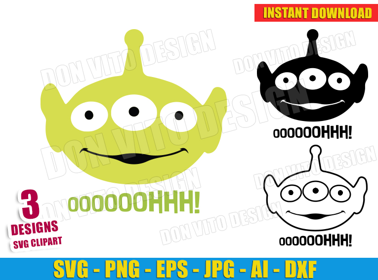 toy story alien svg #742, Download drawings
