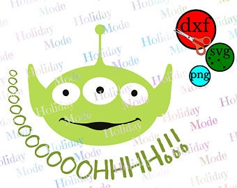 toy story alien svg #749, Download drawings
