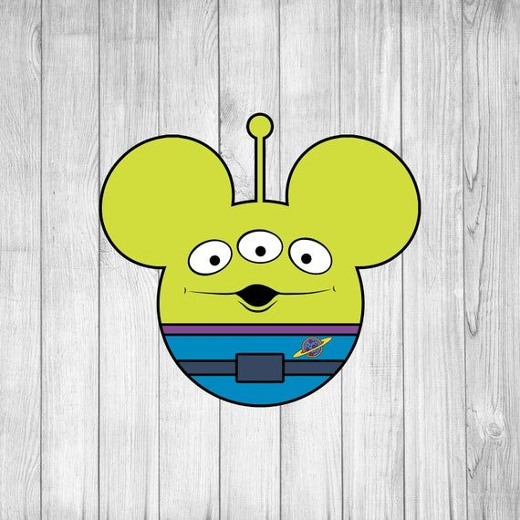 toy story alien svg #744, Download drawings