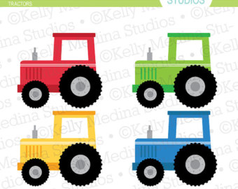 Tractor clipart #2, Download drawings
