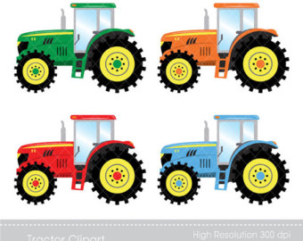 Tractor clipart #1, Download drawings
