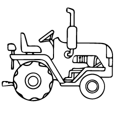 allis chalmers tractor coloring pages - photo#20