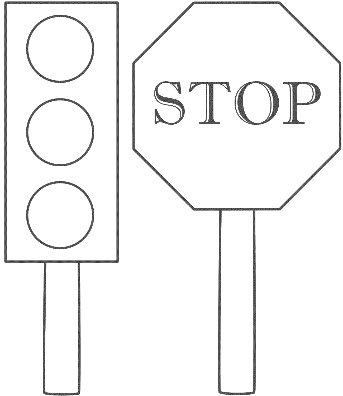 Sign coloring #1, Download drawings