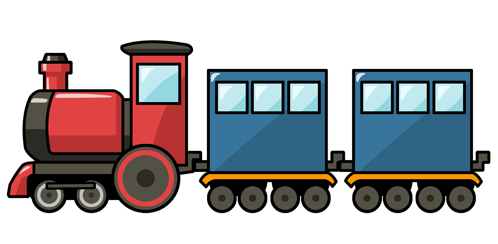 Train clipart #3, Download drawings