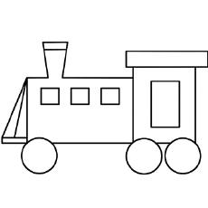 Train coloring #2, Download drawings