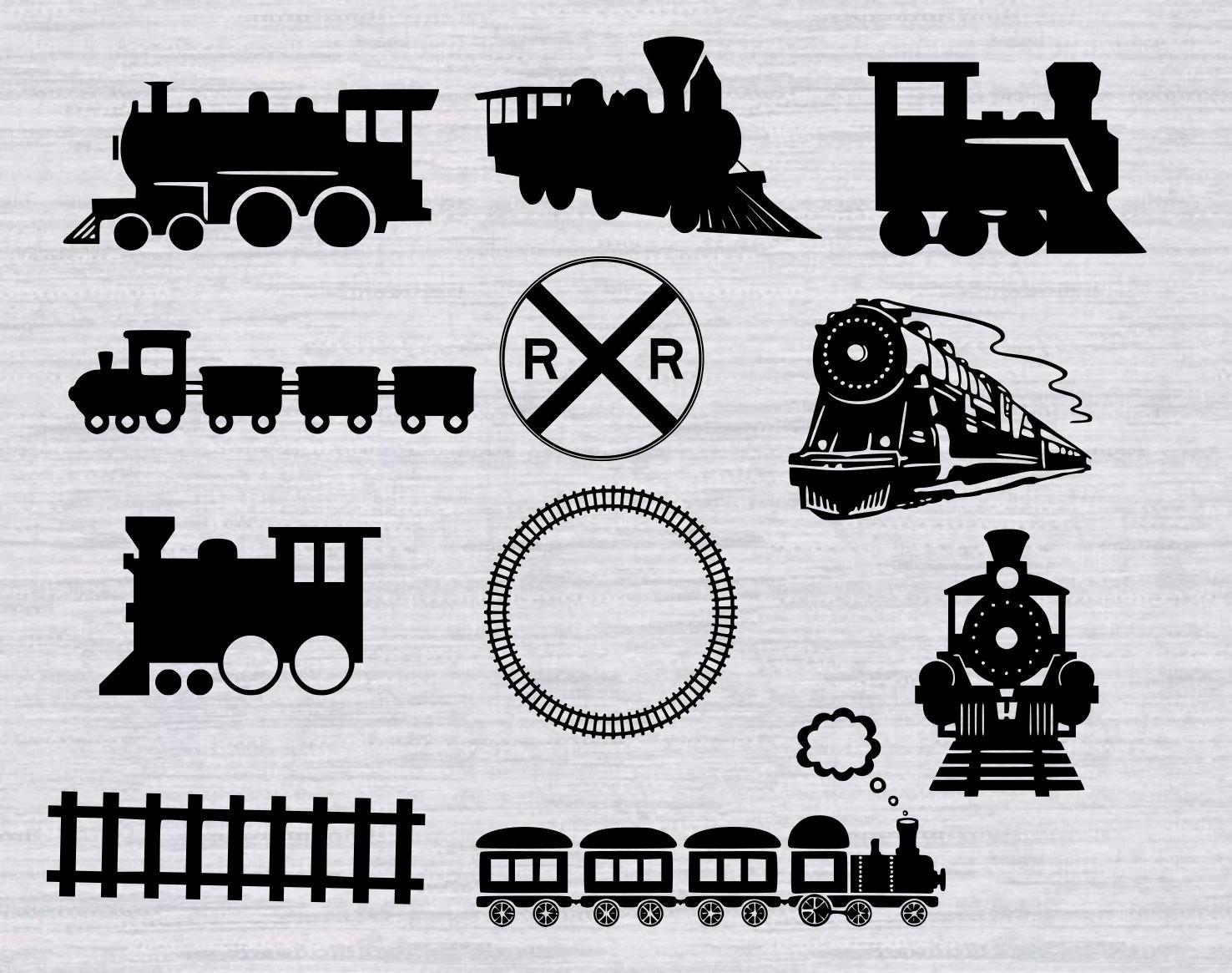 Train svg #2, Download drawings