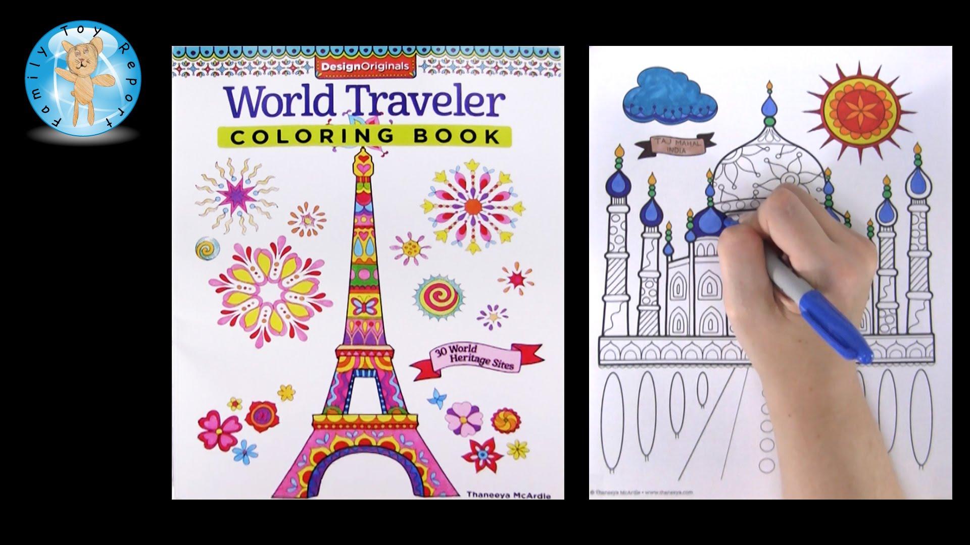 Traveler coloring #15, Download drawings