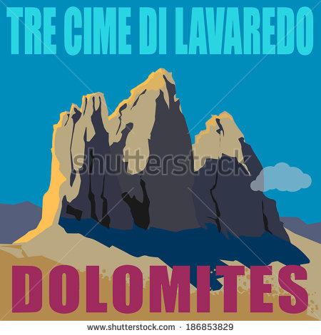 Tre Cime Di Lavaredo svg #1, Download drawings
