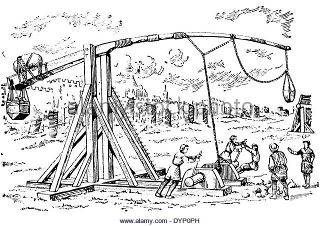 Trebuchet coloring #8, Download drawings