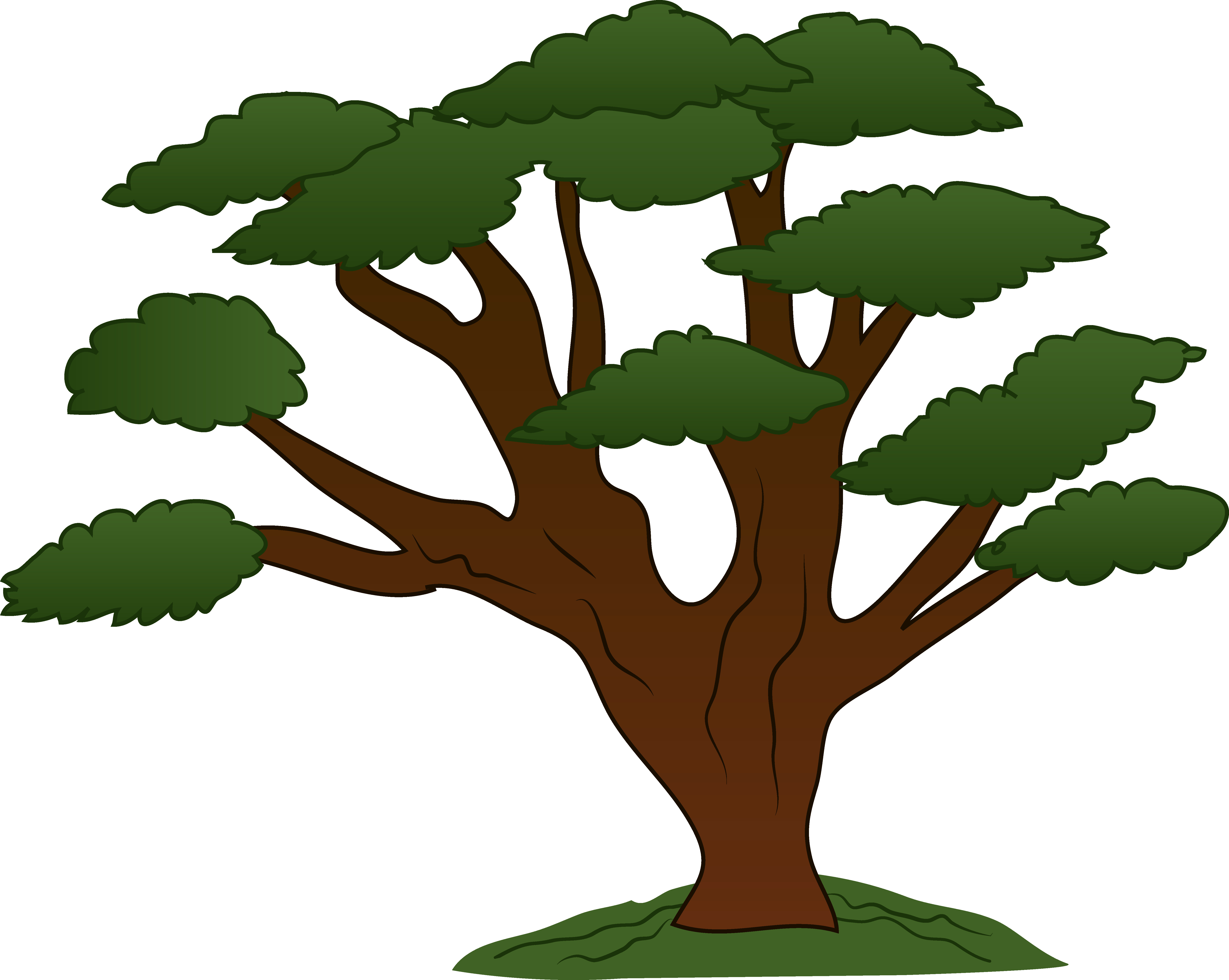 Tree clipart #2, Download drawings