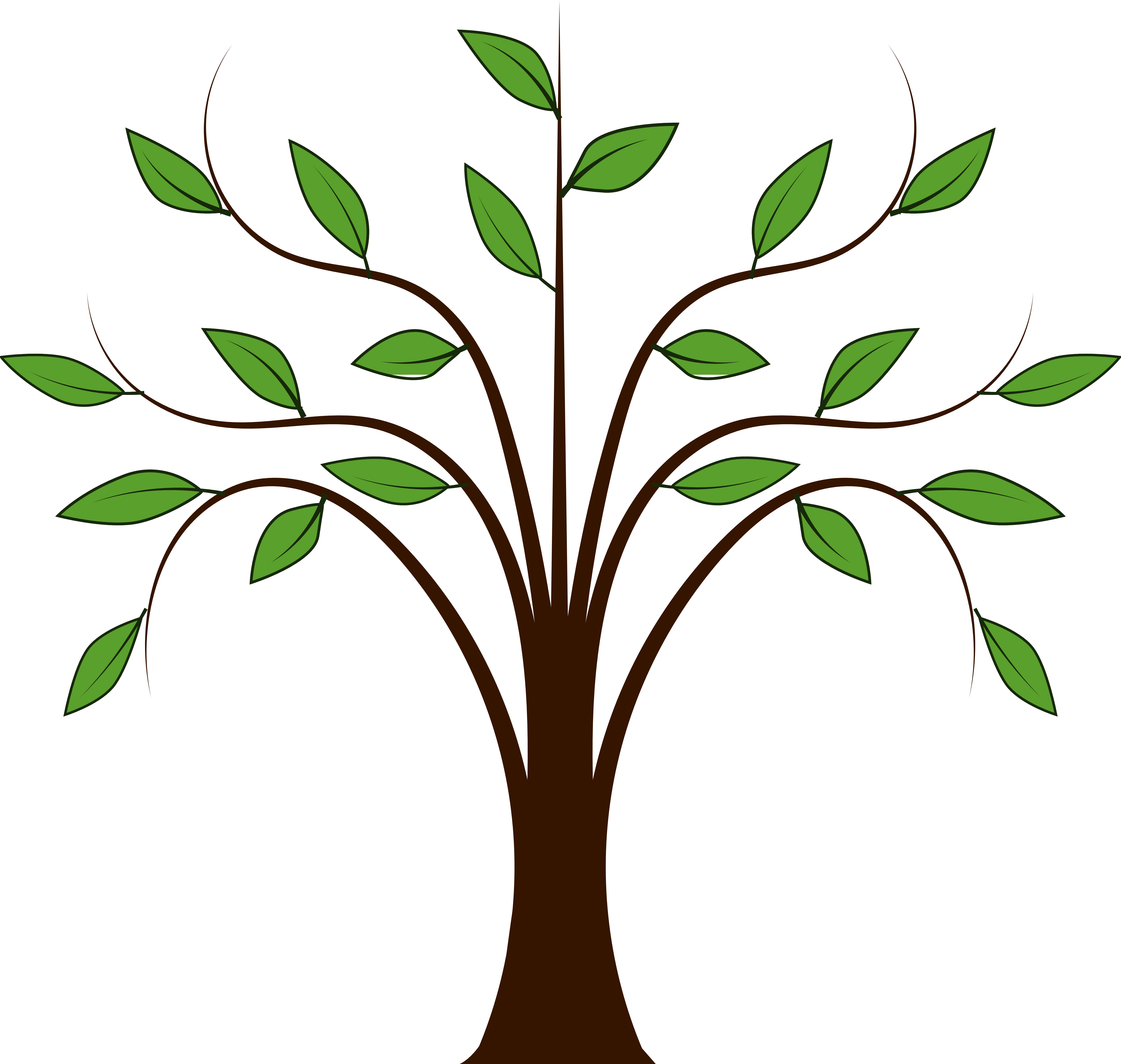 Tree clipart #5, Download drawings