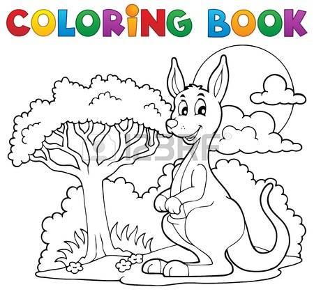 Download Tree Kangaroo coloring for free - Designlooter ...