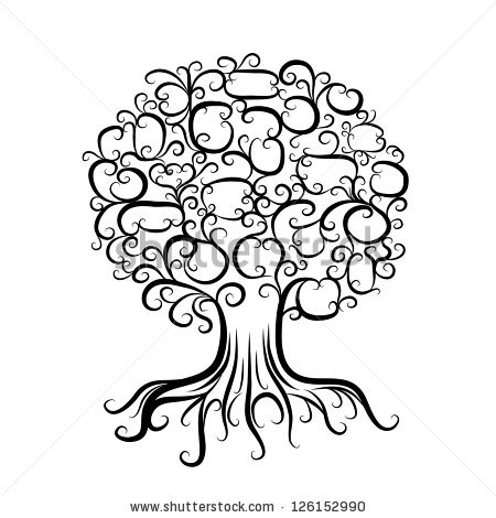 Tree coloring pages with roots