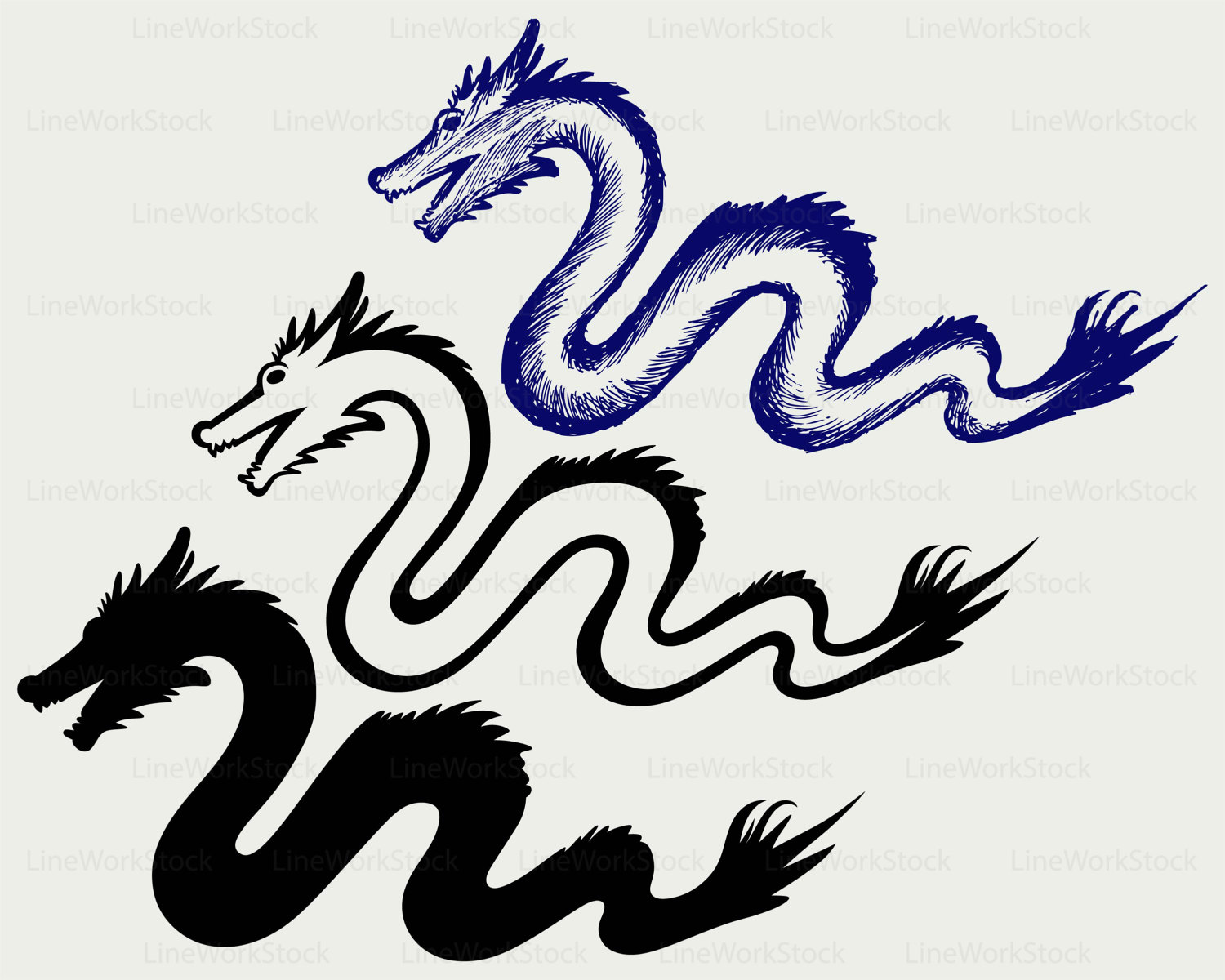 Chinese Dragon svg #18, Download drawings